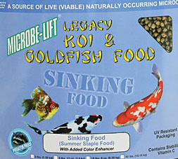 Microbe-Lift Sinking Pellet Koi & Goldfish Food - Bulk